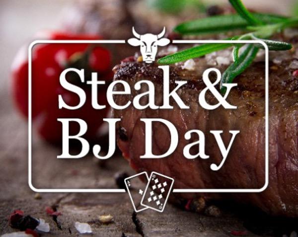 Steak an bj day